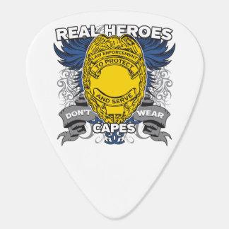 法の執行の実質の英雄 ギターピック