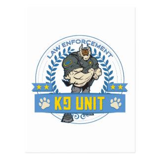 法の執行K9の単位 ポストカード