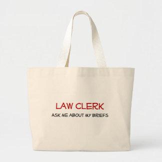 法務書記のバッグ ラージトートバッグ