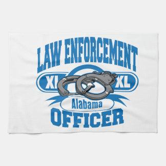 法執行官はアラバマに手錠をかけます キッチンタオル
