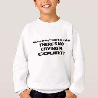 法廷で叫ぶこと スウェットシャツ
