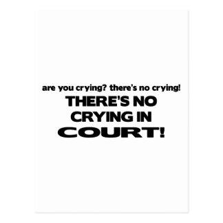 法廷で叫ぶこと ポストカード