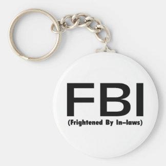 法律で驚くFBI キーホルダー