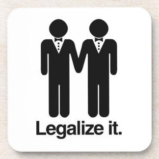 法律化して下さい|同性愛者|結婚式 ビバレッジコースター