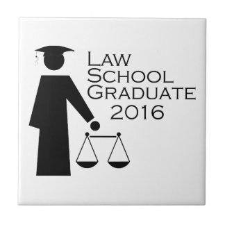 法律学校の卒業生2016年 タイル
