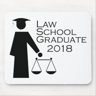 法律学校の卒業生2018年 マウスパッド