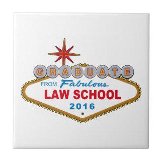 法律学校の2016年のベガスのすばらしい印からの卒業生 タイル