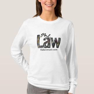 法律-ロゴ-女性フード付きスウェットシャツ Tシャツ