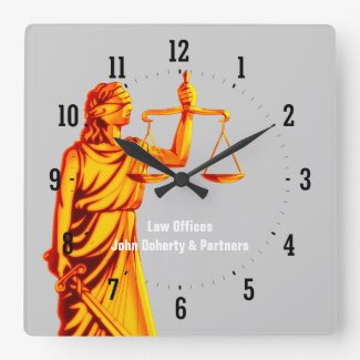 法律-正義の時間-の弁護士柱時計