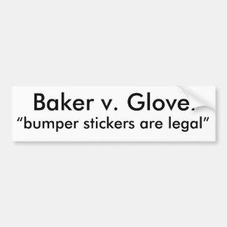 法的バンパーステッカー バンパーステッカー