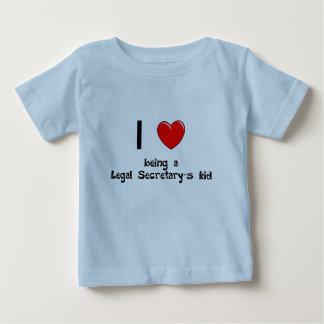 法的秘書の子供のTSがあるlegalsec I愛 ベビーTシャツ