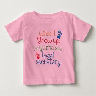 法的秘書(未来)子供 ベビーTシャツ