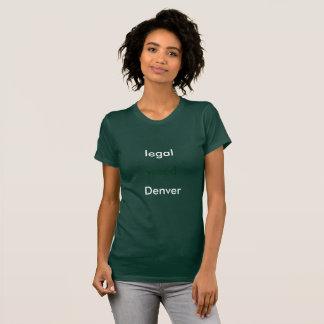 法的(雑草)デンバー Tシャツ