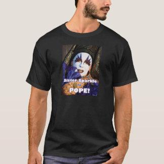 法皇のための輝き Tシャツ