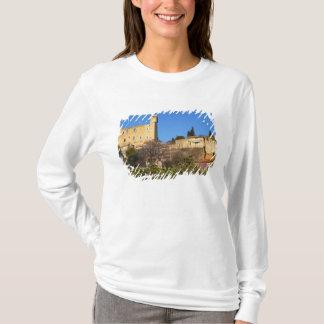 法皇の夏の台なしは城郭で囲みます Tシャツ