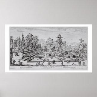 法皇のPius喜びの庭そしてパビリオンIV ( ポスター