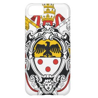 法皇のPius紋章付き外衣XI iPhone5Cケース