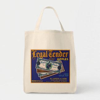 法貨のりんご トートバッグ