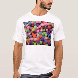 泡および点 Tシャツ