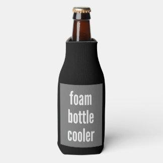 泡のボトルのクーラーの適当なテンプレート ボトルクーラー