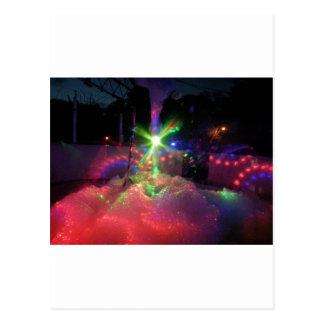 泡のレーザー光線 ポストカード