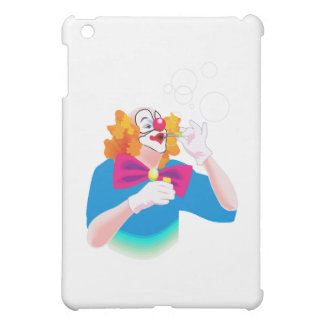 泡を吹いているピエロ iPad MINI CASE