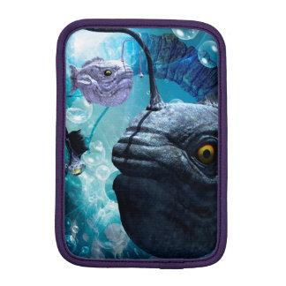泡を持つカエルアンコウ iPad MINIスリーブ