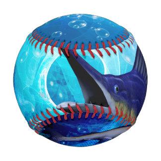 泡を持つ素晴らしいマカジキ 野球ボール