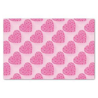 泡ピンクの雄鹿 薄葉紙
