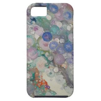 泡抽象芸術 iPhone SE/5/5s ケース
