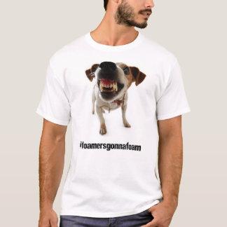 泡立つことを行くFoamers Tシャツ