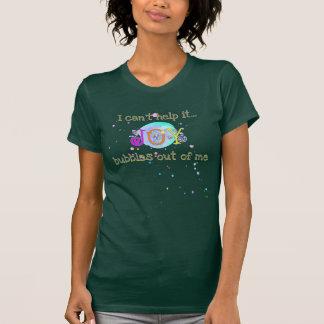 泡立つ喜びは、それを救済できません Tシャツ