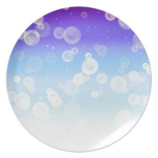 泡輝き プレート
