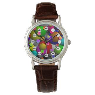 泡(マヤの顔)腕時計 腕時計