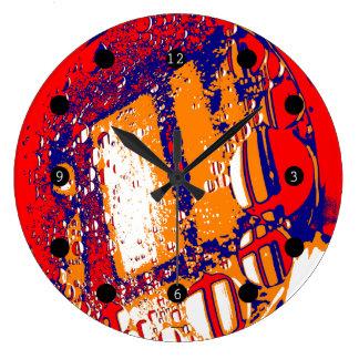泡 ラージ壁時計