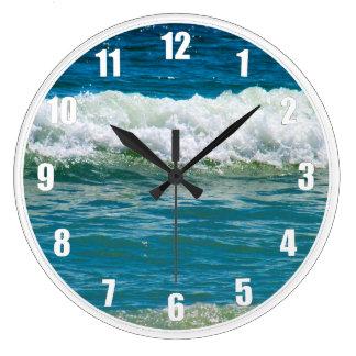 波で無くなっている得て下さい ラージ壁時計