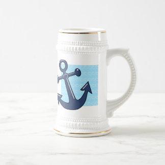 波のいかり ビールジョッキ