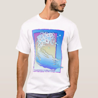 波のしぶき! Tシャツ