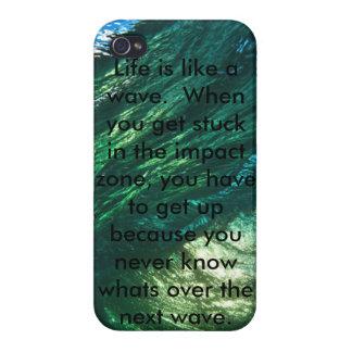 波のような生命 iPhone 4/4Sケース