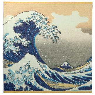波のアメリカ人のMoJoの素晴らしいナプキン ナプキンクロス