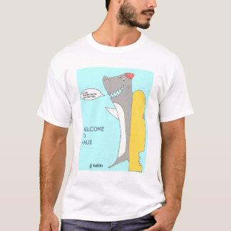 波のインストラクターの鮫 Tシャツ