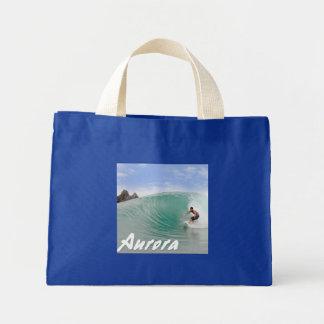 波のオーロラフィリピン ミニトートバッグ