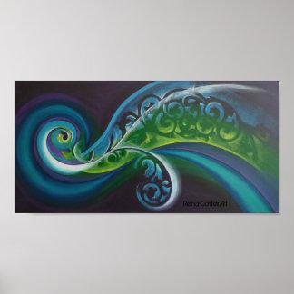 波のガイア魔法のポスター ポスター