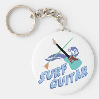 波のギター キーホルダー