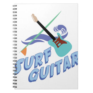 波のギター ノートブック