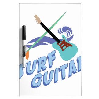 波のギター ホワイトボード