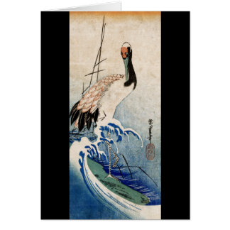 波のクレーン、Ando Hiroshige カード