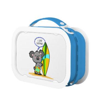 波のコアラのお弁当箱 ランチボックス