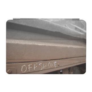 波のサーフボードの沖合いのサーフィンの灰色の茶色 iPad MINIカバー
