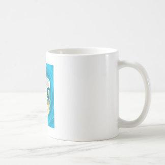 波のトンネルの下のサーファー コーヒーマグカップ
